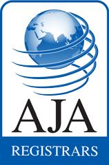 AJA Registrars Logo