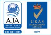 AJA ISO 9001 Logo